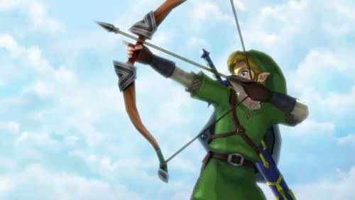 Skyward Sword Link Bow