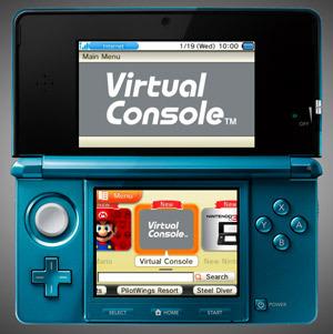 3Ds Virtual Console