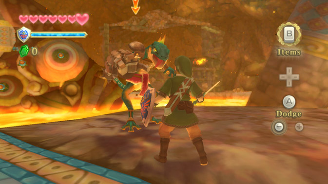 Link vs. Lizalfos - the epic struggle continues!