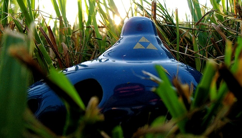 Ocarina of Time in the Grass