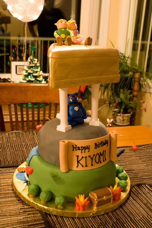 Strange An Epic Zelda Birthday Cake Zelda Dungeon Funny Birthday Cards Online Elaedamsfinfo
