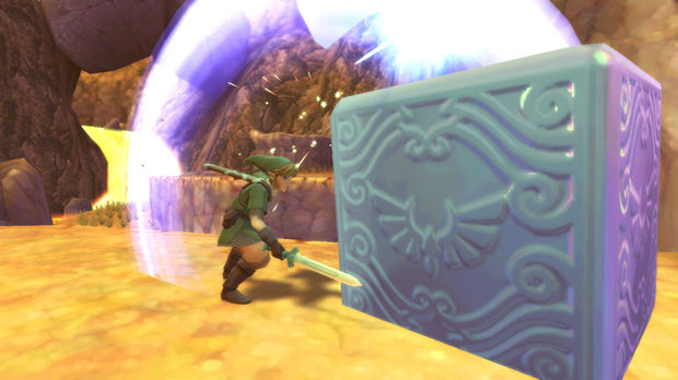 Skyward Sword Walkthrough, Goddess Cubes