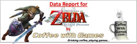 Data Report for twilight Princess