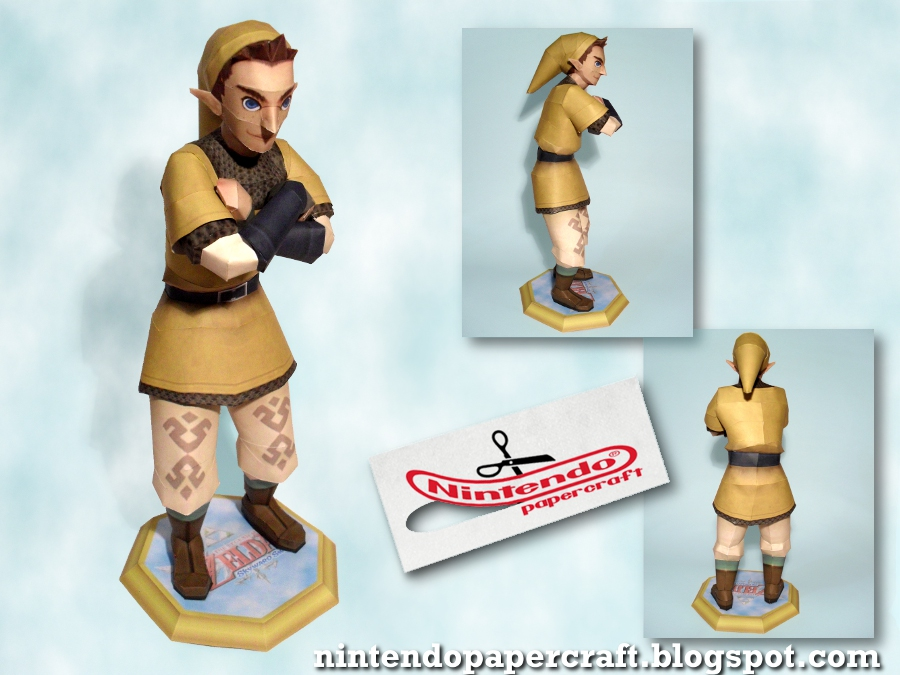 Nintendo Papercraft Shows Off Midna Zelda Dungeon