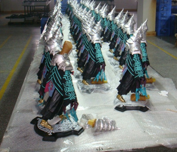 Zant Figurine Production