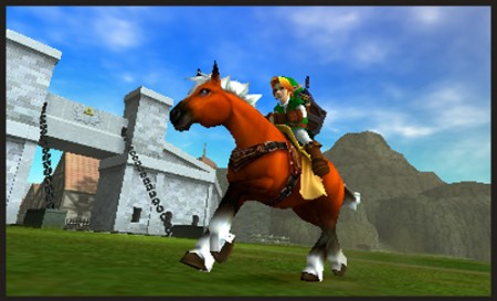 New Ocarina of Time 3DS Details