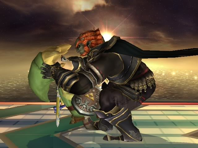 Ganondorf Letting Toon Link Know Whats Up
