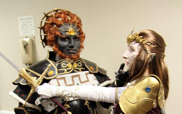 Zelda and Ganon