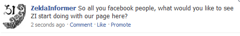 Zelda Informer Facebook