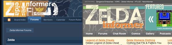 Forum and Main Site Comparison