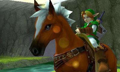Ocarina of Time 3DS Screenshot
