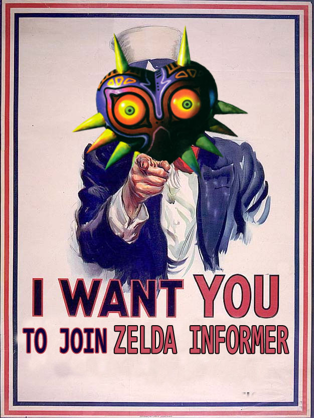 I Want You to Join Zelda Informer