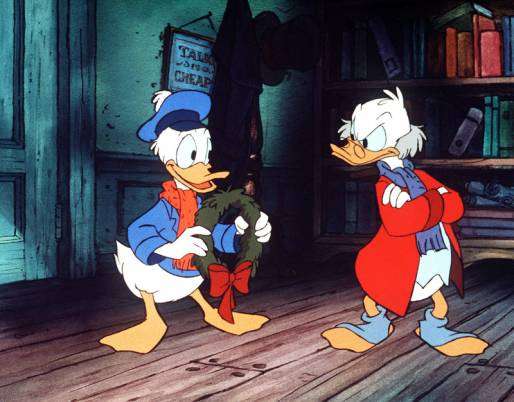 Scrooge McDuck and Donald Duck