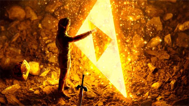 Link obtains Triforce