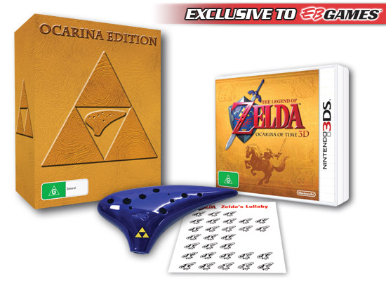 Ocarina Bundle EB Games