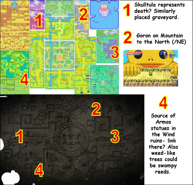Spirit Tracks Geography Comparison 3