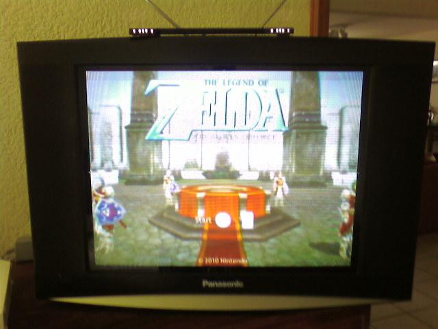 Zelda Wii Screen 1