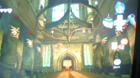 Zelda Wii Screen 2