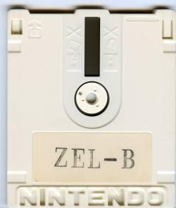 The Legend of Zelda Prototype Cartridge