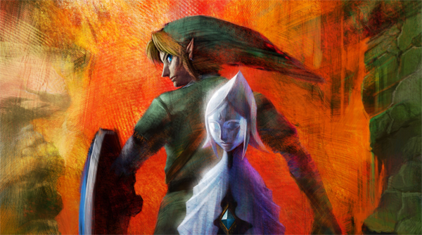 Link and the Skyward Sword