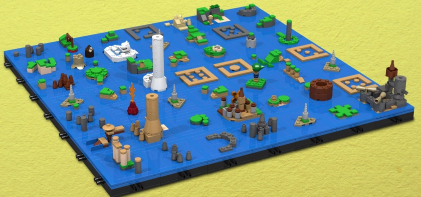 Fan recreates wind waker overworld in lego zelda dungeon weve seen and covered several fan movements to recreate certain elements from the legend of zelda franchise in lego bricks and although some have been gumiabroncs