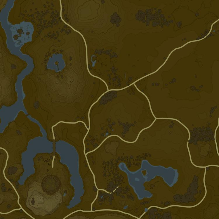 Breath Of The Wild Schreine Karte.Breath Of The Wild Interactive Map
