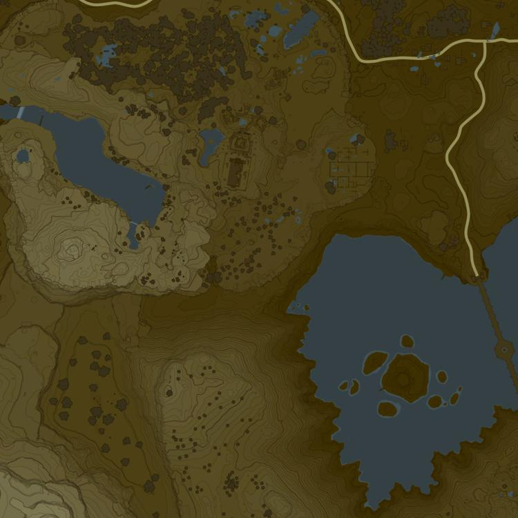 Breath Of The Wild Interactive Map