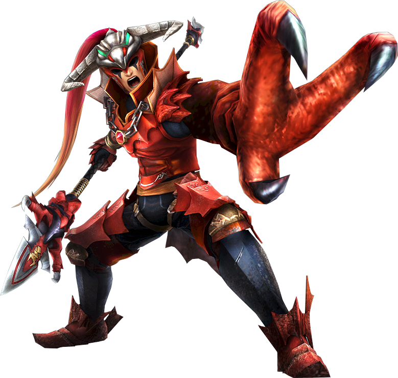 Hyrule Warriors Artwork Volga Dragon Spear.png