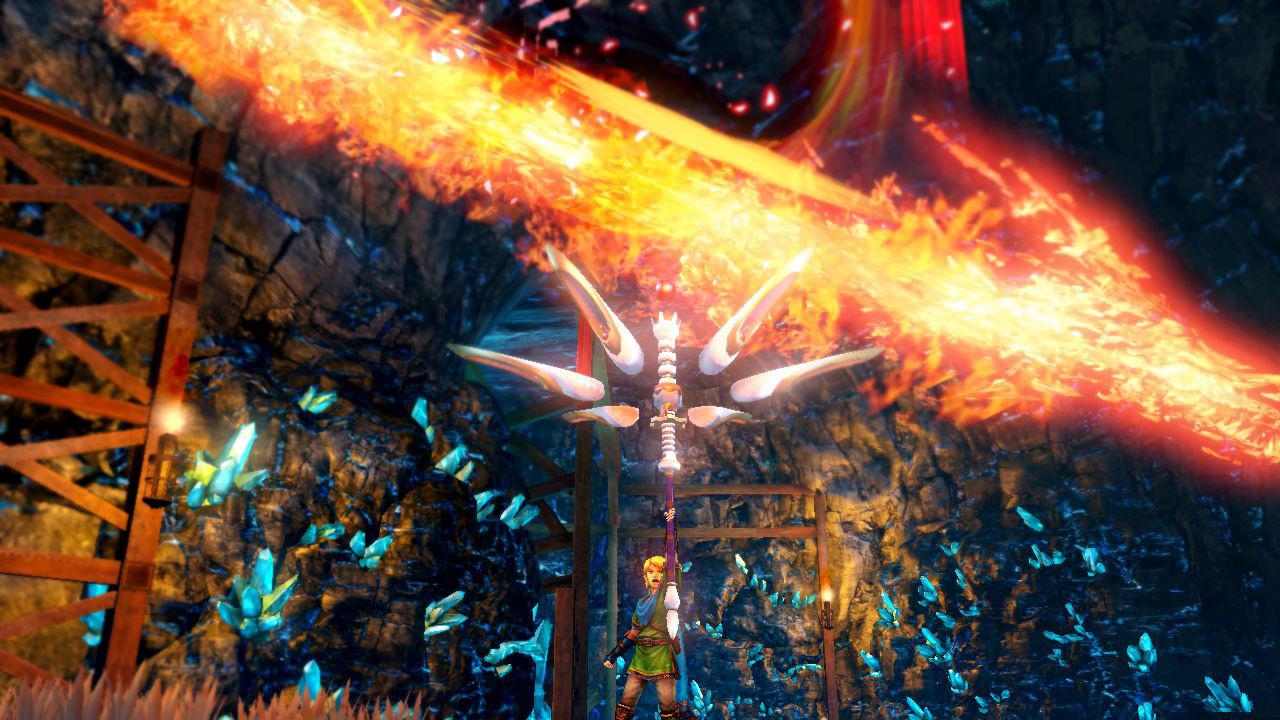 Hyrule Warriors Screenshot Link Magic Rod