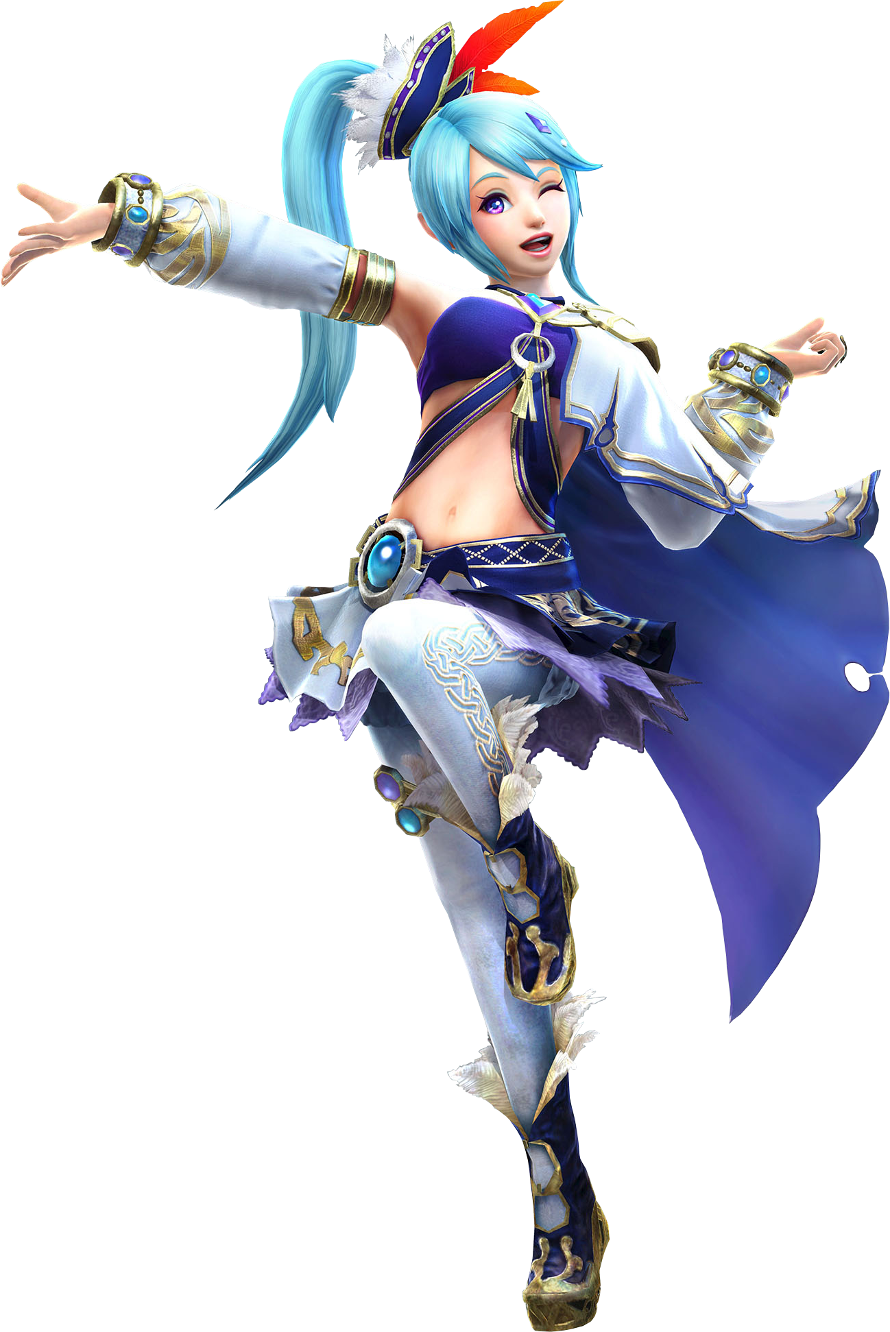 Hyrule Warriors Artwork Lana.png