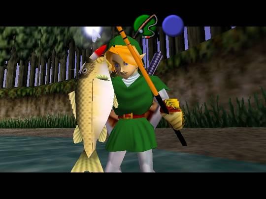 Fishing mini game | legend of zelda | ocarina of time youtube.