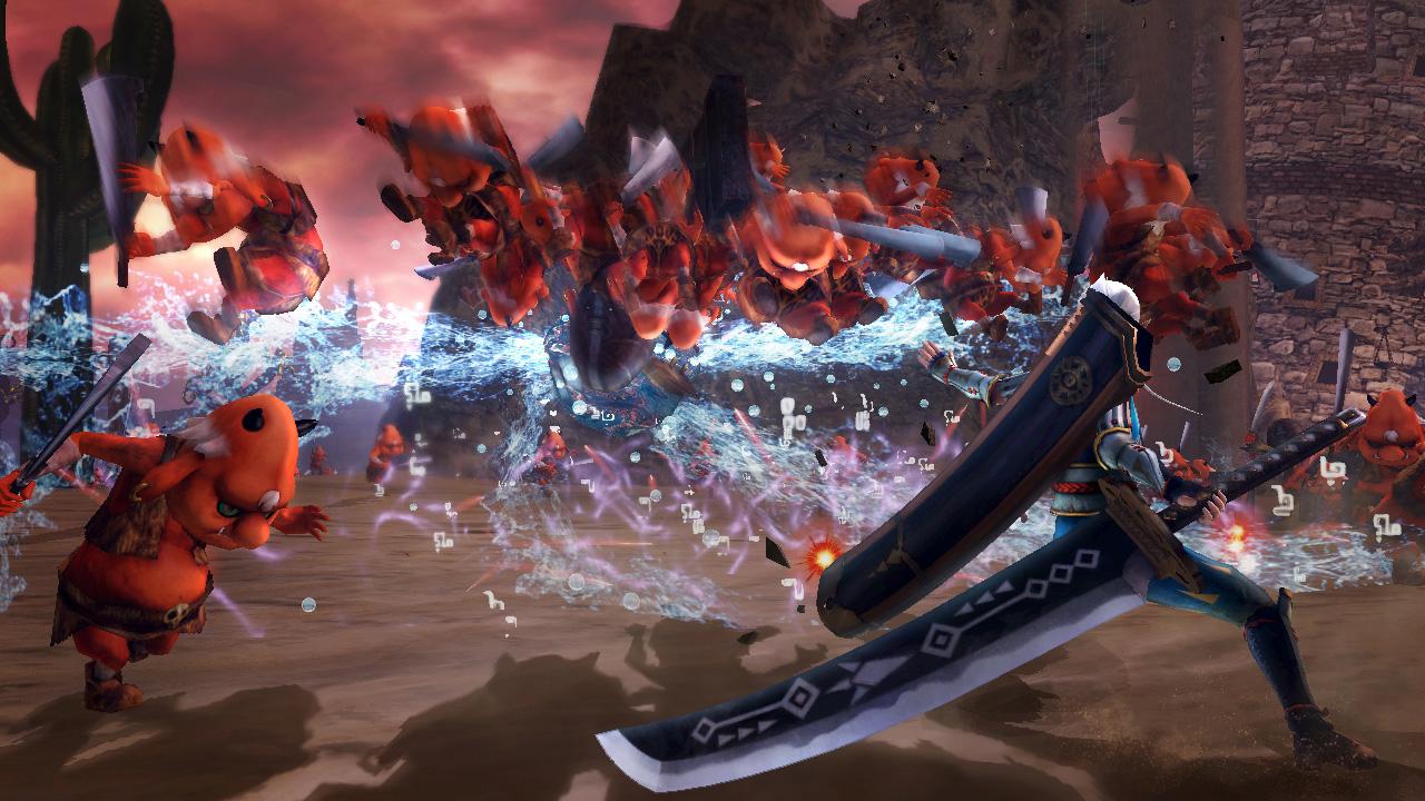 Hyrule Warriors Screenshot Impa Giant Blade