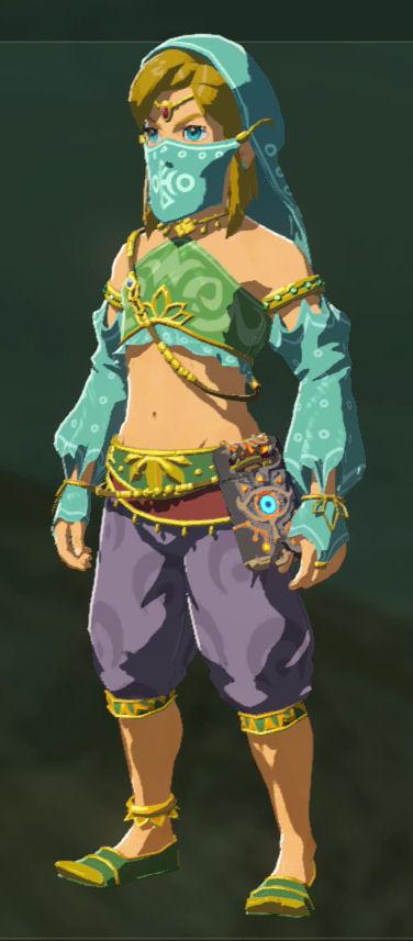 Gerudo Clothes Zelda Dungeon Wiki