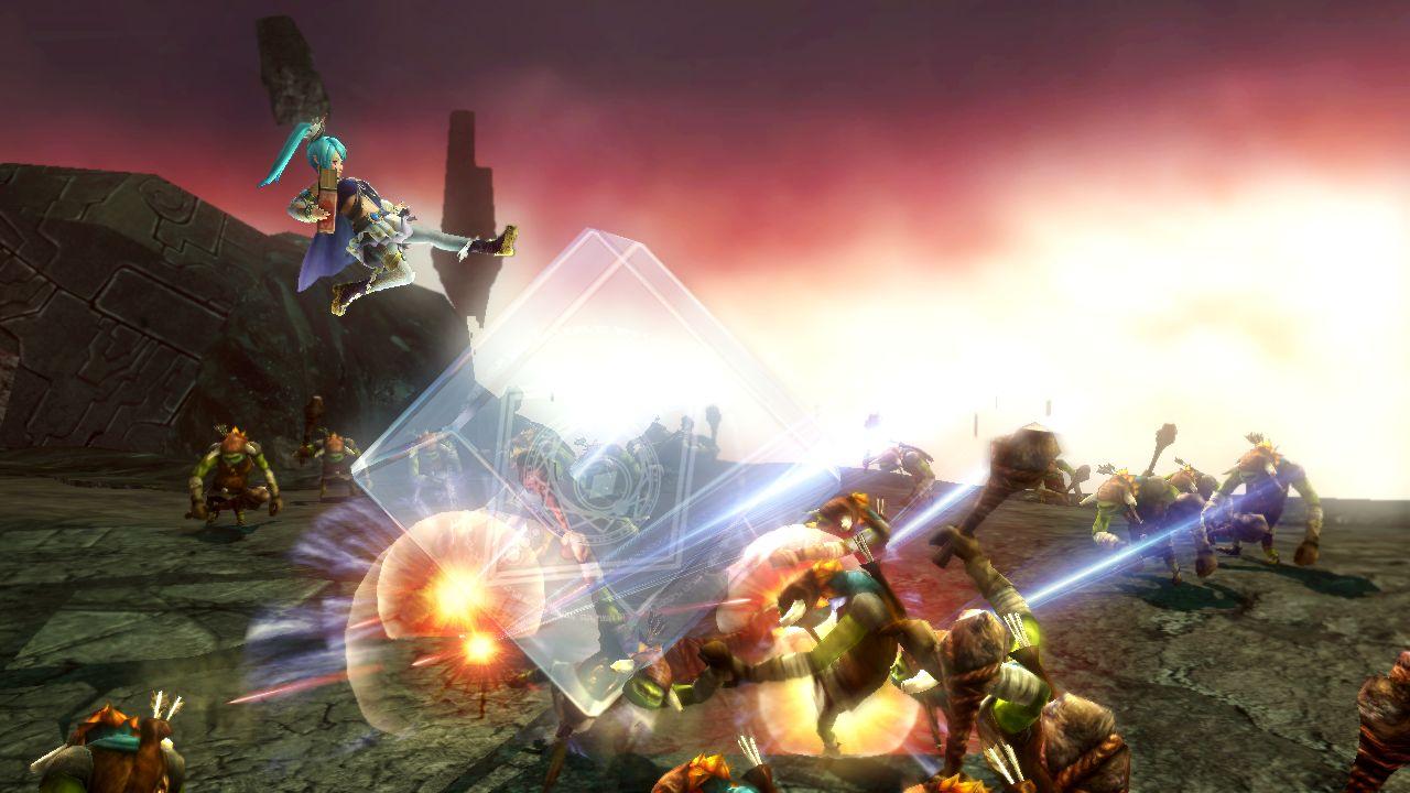 Hyrule Warriors Screenshot Lana Cube Barrier