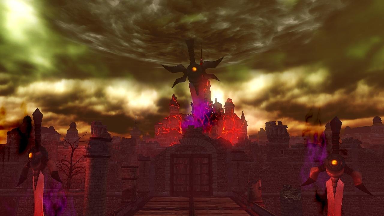 Ganon S Tower Hyrule Warriors Zelda Dungeon Wiki