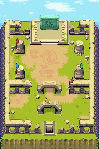 Fortress of winds zelda dungeon wiki for Floor 4 mini boss map swordburst 2