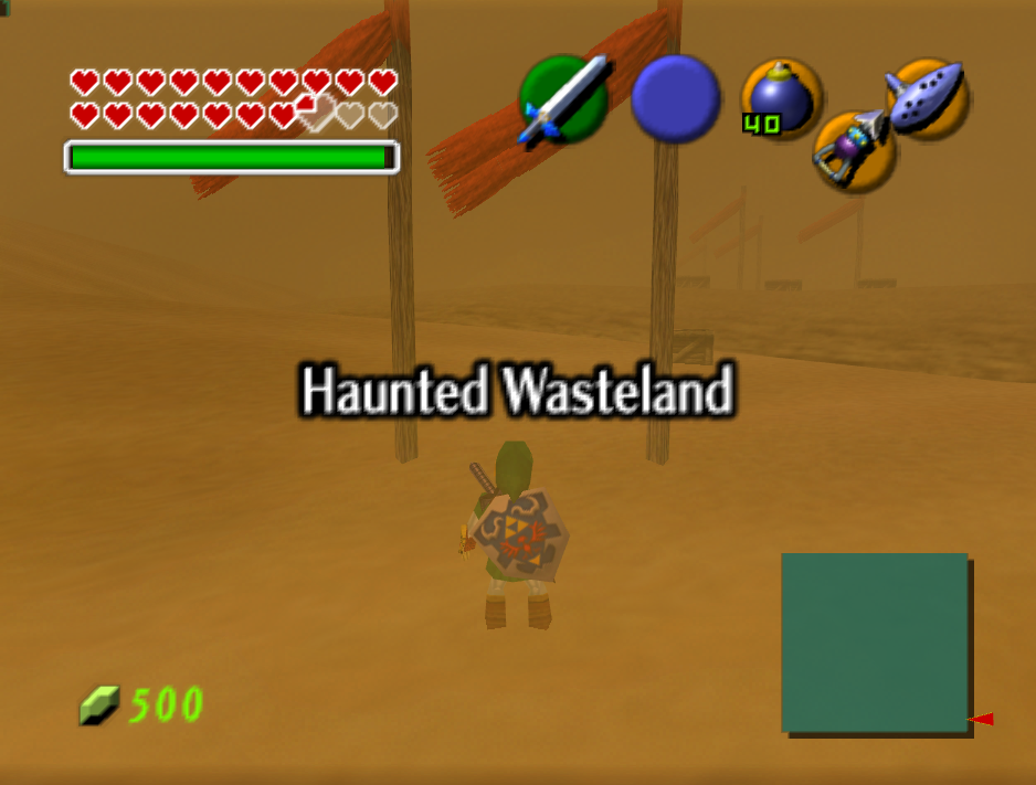 Haunted Wasteland entrance OOT64.png