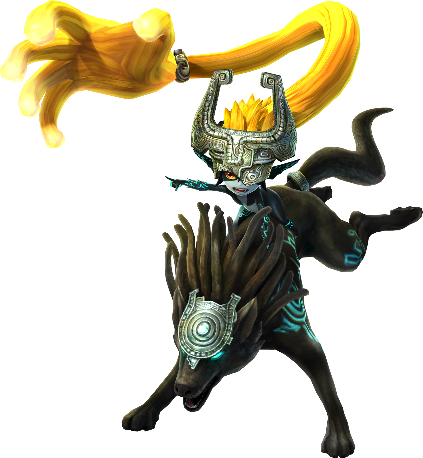Hyrule Warriors Artwork Midna Shackle.png
