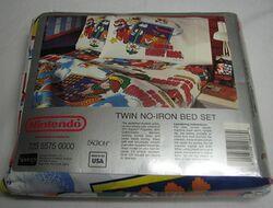 The Legend Of Zelda Amp Super Mario Bros Twin Bed Set