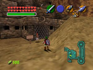 Gerudo Training Grounds exterior OOT64.jpg