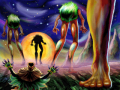 Skull Kid and the Four Giants.png