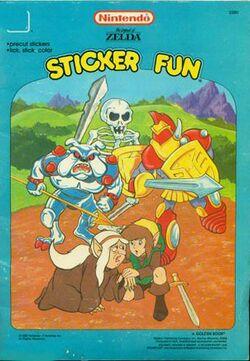 The Legend Of Zelda Sticker Fun Book Zelda Dungeon Wiki