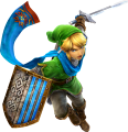 Hyrule Warriors Artwork Link Hylian Sword.png