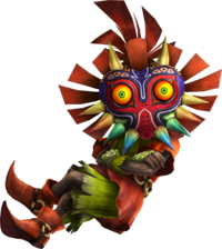 Hyrule Warriors Artwork Skull Kid.png
