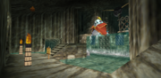 King Zora Chamber three-quarter view reverse with Ruto - OOT64.png