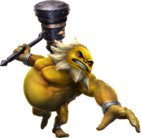 Hyrule Warriors Artwork Darunia Hammer.png