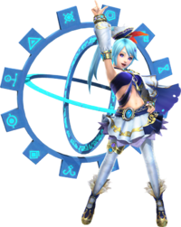 Hyrule Warriors Artwork Lana Summoning Gate.png