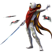 Hyrule Warriors Artwork Ghirahim Demon Blade.png
