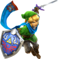 Hyrule Warriors Artwork Link Master Sword 2.png