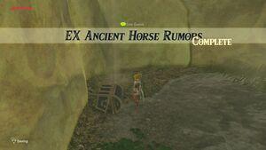 Ex Ancient Horse Rumors Zelda Dungeon Wiki